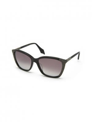 Солнцезащитные очки MILA ZB. Цвет: черный