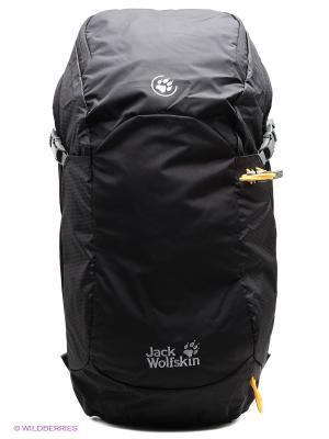 Рюкзак EDS DYNAMIC 28 PACK Jack Wolfskin. Цвет: черный