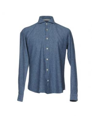 Pубашка NEW ENGLAND. Цвет: синий