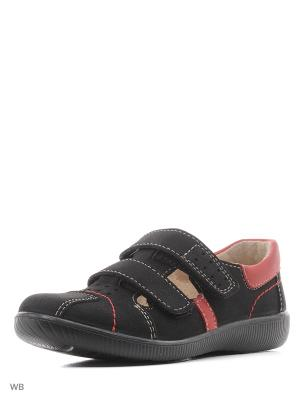 Туфли San Marko. Цвет: черный, красный
