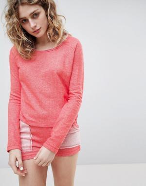 Lazy Days Пижама с шортами. Цвет: оранжевый
