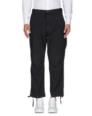 Повседневные брюки WHITE MOUNTAINEERING. Цвет: свинцово-серый