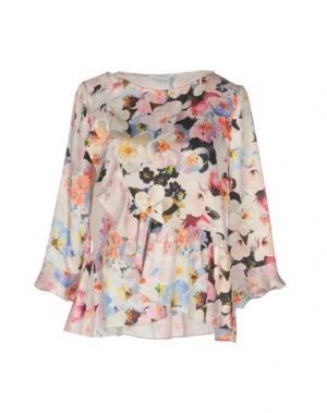 Блузка BIANCOGHIACCIO. Цвет: светло-розовый