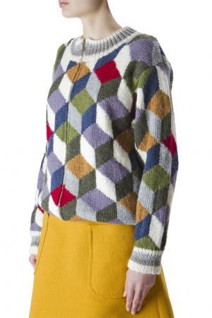 Разноцветный свитер на молнии Duro Olowu