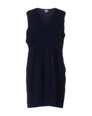 Короткое платье INTROPIA. Цвет: темно-синий