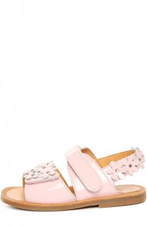 Сандалии Zecchino d'Oro. Цвет: розовый