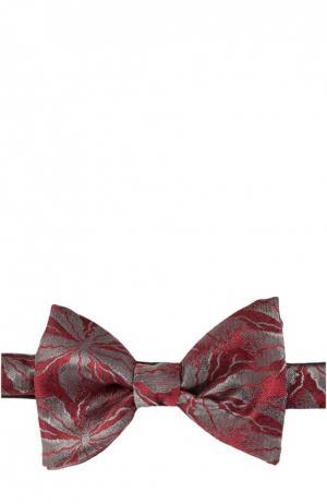Галстук-бабочка Lanvin. Цвет: красный