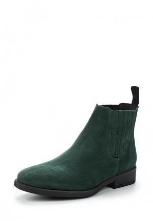Ботинки KMB. Цвет: зеленый
