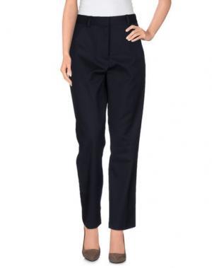 Повседневные брюки WOOD. Цвет: темно-синий