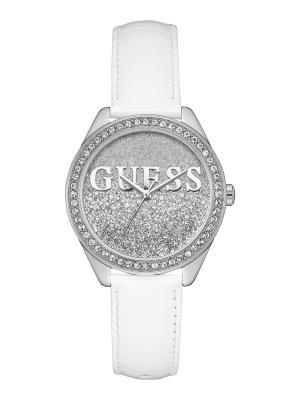 Часы GUESS. Цвет: белый, серебристый