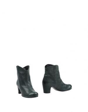 Полусапоги и высокие ботинки ROSAMUNDA. Цвет: темно-зеленый