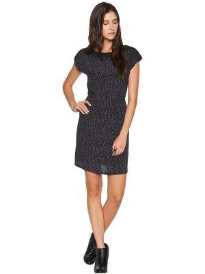 Платье TOM TAILOR. Цвет: черный, серый