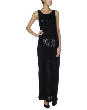 Длинное платье JUST FOR YOU. Цвет: черный