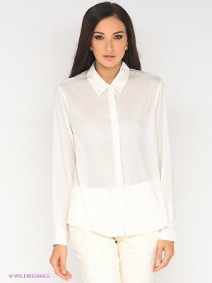 Блузка ZARINA. Цвет: кремовый