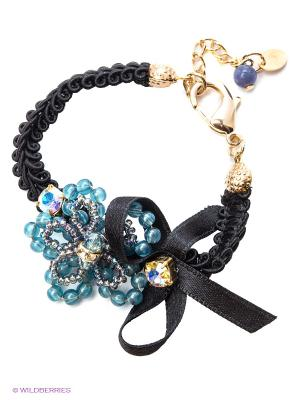 Браслет Maru by Safri. Цвет: черный, синий
