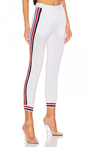 Спортивные брюки Stateside. Цвет: белый