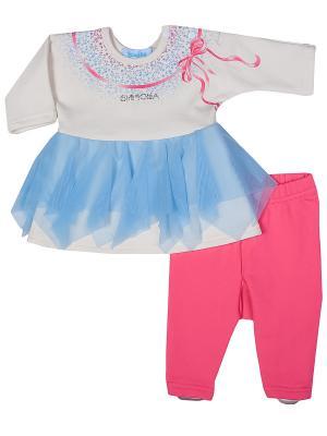Комплект Бимоша. Цвет: розовый, голубой