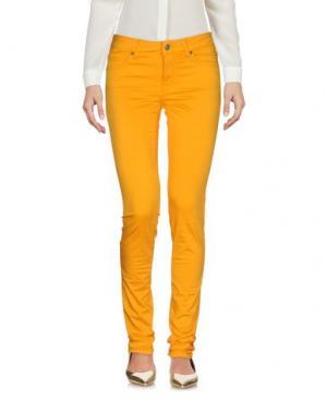 Брюки-капри ROŸ ROGER'S. Цвет: оранжевый