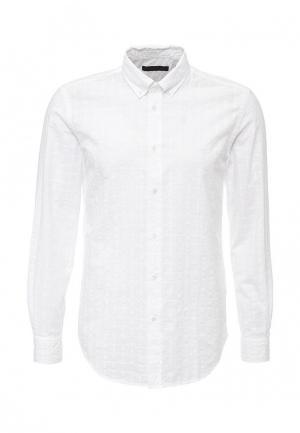 Рубашка Trussardi Jeans. Цвет: белый