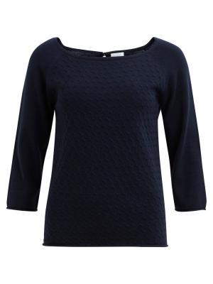 Пуловер Vila. Цвет: темно-синий