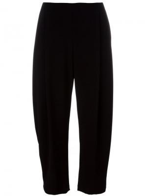 Укороченные брюки Apuntob. Цвет: чёрный