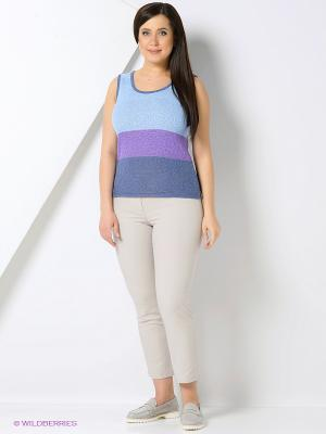 Джемпер Milana Style. Цвет: синий