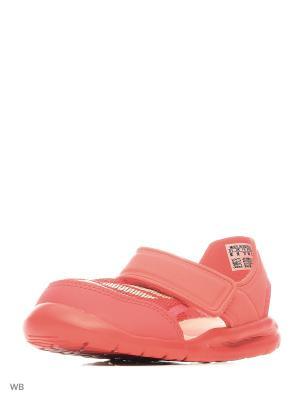 Сандалии дет. спорт. FortaSwim I  CORPNK/HAZCOR/CORPNK Adidas. Цвет: розовый