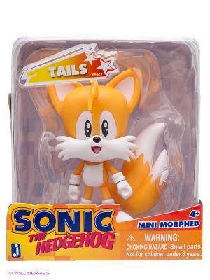 Фигурка Соник - Sonic Morphed Classic Tails (6см). Цвет: рыжий