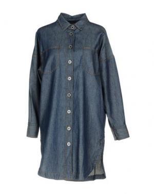 Джинсовая рубашка DENNY ROSE. Цвет: синий