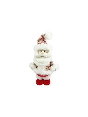 Кукла Дед Мороз 35 см, красн. Новогодняя сказка. Цвет: красный