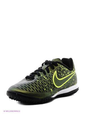 Шиповки JR MAGISTA ONDA TF Nike. Цвет: зеленый