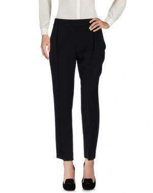 Повседневные брюки GIAMBATTISTA VALLI. Цвет: черный
