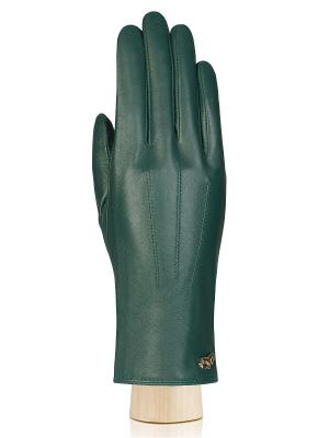 Перчатки Labbra. Цвет: зеленый, темно-зеленый