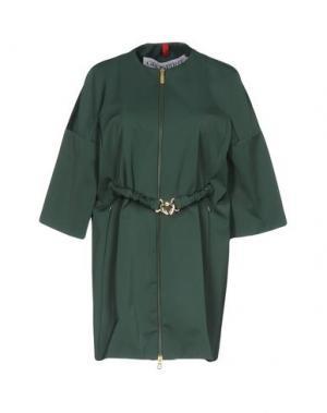 Легкое пальто GEOSPIRIT. Цвет: зеленый