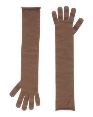 Перчатки NIOI. Цвет: хаки