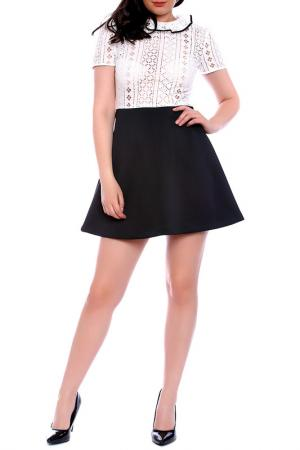 Платье Moda di Chiara. Цвет: white, black
