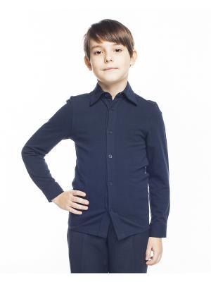 Рубашка Cleverly. Цвет: синий