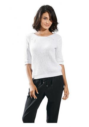 Пуловер B.C. BEST CONNECTIONS. Цвет: белый, синий, черный