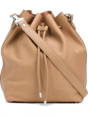Большая сумка-мешок Proenza Schouler. Цвет: коричневый