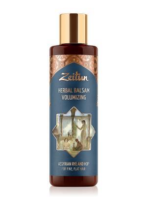 Фито-бальзам для густоты и объема волос. С ассирийской рожью хмелем Зейтун. Цвет: кремовый