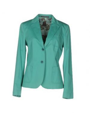 Пиджак 19.70 NINETEEN SEVENTY. Цвет: бирюзовый