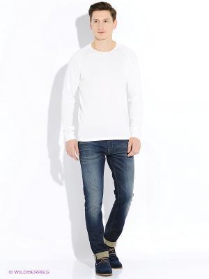 Пуловер Jack&Jones. Цвет: белый