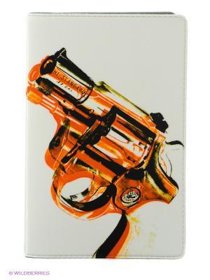 Визитница Пистолет Mitya Veselkov. Цвет: белый, красный