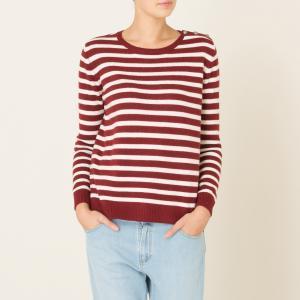 Пуловер TOCSIN HARRIS WILSON. Цвет: красный/экрю