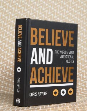 Books Книга Believe and Achieve. Цвет: мульти
