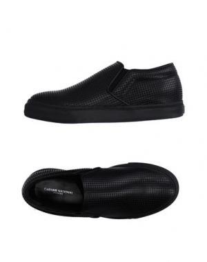 Низкие кеды и кроссовки COSTUME NATIONAL HOMME. Цвет: черный