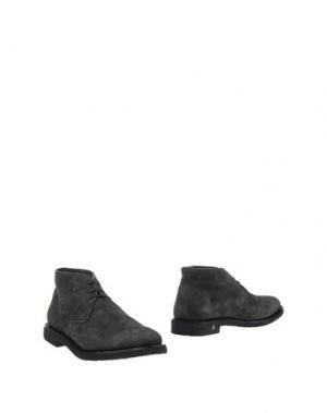 Полусапоги и высокие ботинки ANDREA VENTURA FIRENZE. Цвет: свинцово-серый