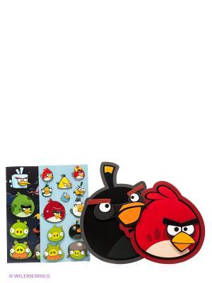 Большой набор наклеек Аngry Birds Centrum. Цвет: красный