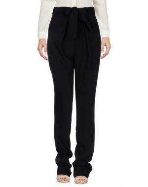 Повседневные брюки ALMAGORES. Цвет: черный