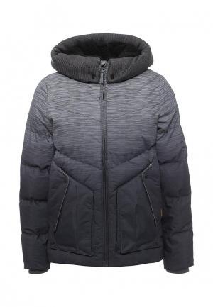 Куртка утепленная Rip Curl. Цвет: серый
